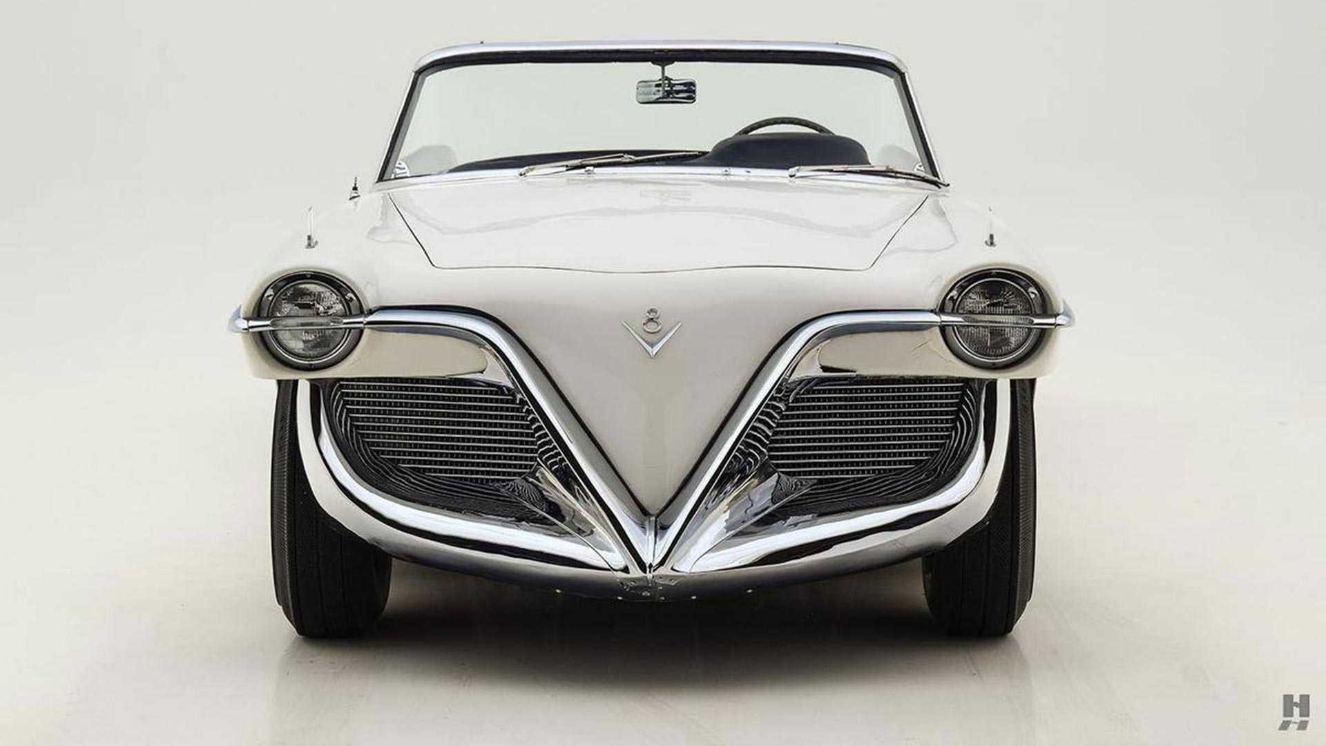 Thiết kế đầu xe Cadillac Die Valkyrie 1955 concept
