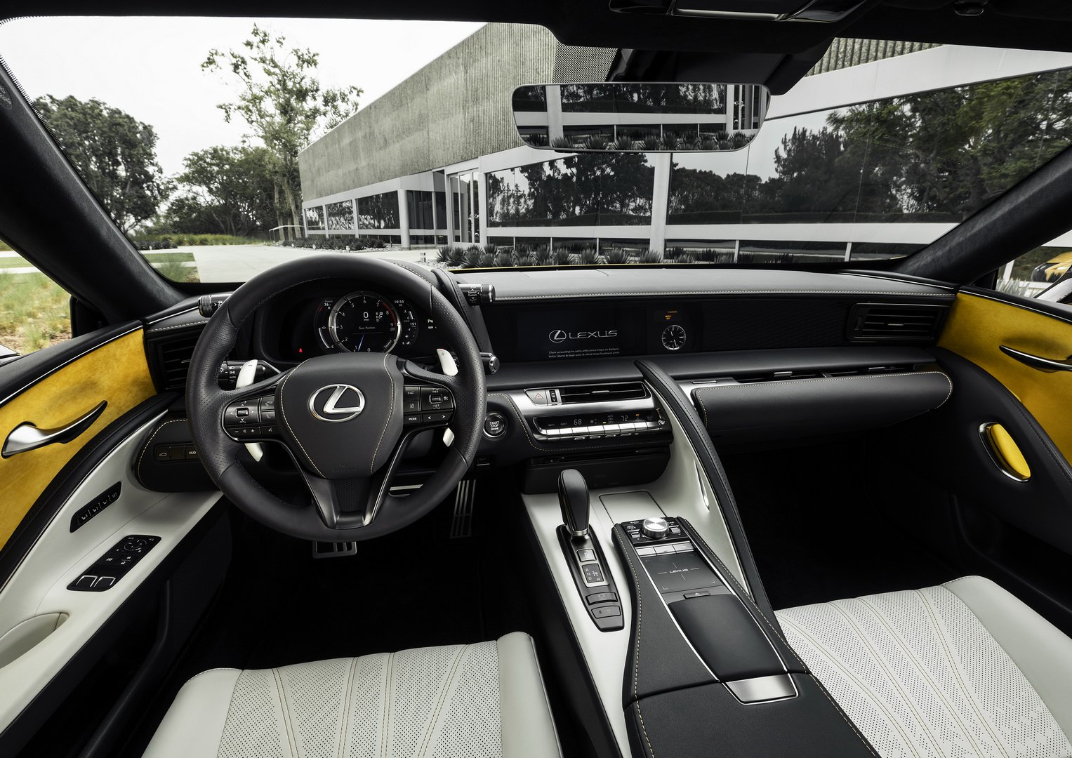 Thiết kế cabin xe Lexus LC 500 Inspiration Series