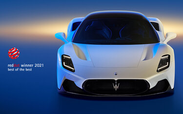 """Maserati MC20 chiến thắng giải """"Best of the Best"""""""
